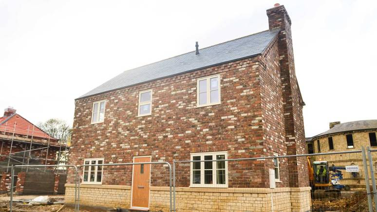 One of the new-build homes in St Johns Village: Photos by Steve Smailes