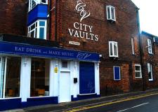 The City Vaults pub in Lincoln.