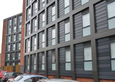The student was taken ill at Danesgate House student accommodation in the city centre. Photo: The Lincolnite