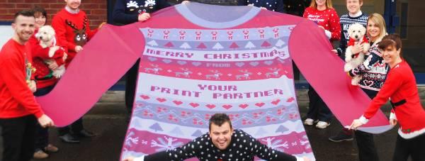 Your Printer Partner's giant jumper!