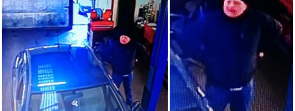Police would like to speak to the man pictured in connection with the theft. Photo: Lincolnshire Police