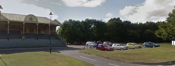 Parking at the Grandstand will be restricted to minimise misuse. Photo: Google Street View