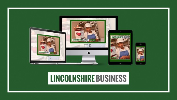 Lincolnshire Business magazine cover interview with Jenny Smith.