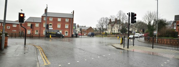 The junction of Carholme Road with Newland in Lincoln. Photo: Steve Smailes for The Lincolnite