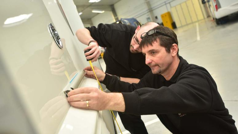 Camper UK staff working in the service area, Photo: Steve Smailes for The Lincolnite