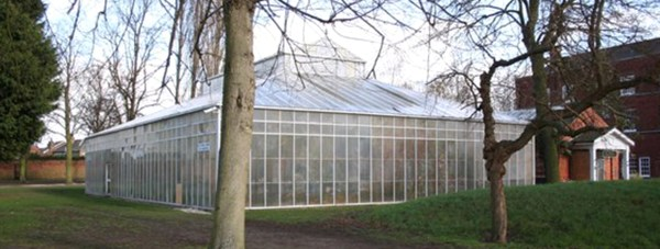 The Joseph Banks Conservatory at The Lawn in Lincoln. Photo: Richard Croft