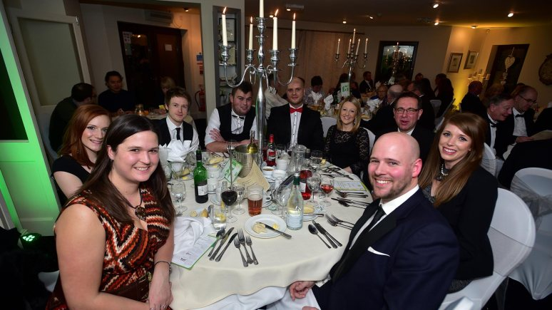 The Lincolnshire Business table with guests