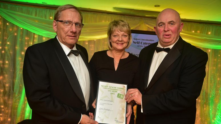 Elms farm Cottages, Hubberts Bridge in Boston, winners of Self-Catering of the Year
