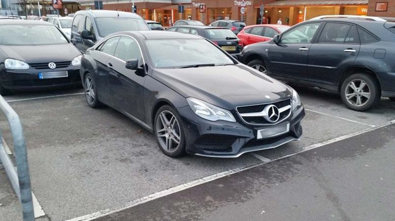 Captured in B & Q car park. Photo James Ralph