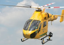 Lincolnshire Air Ambulance in action