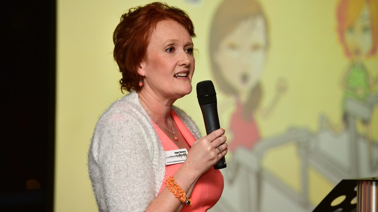 Wendy Spalding-Siracusa, Co-organiser of the Angels Bring Business Awards. Photo Steve Smailes for The Lincolnite