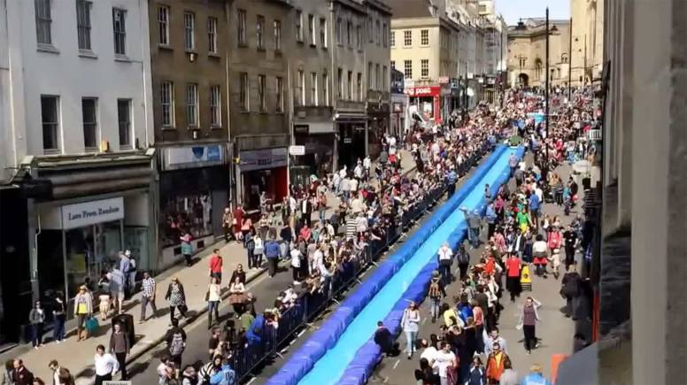 Bristol's Park and Slide on May 4. Youtube screenshot: Ollie Francis
