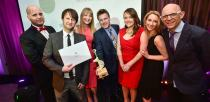 The winners of the Best Digital Campaign award Hemswell Antiques.  Photo: Steve Smailes for Lincolnshire Business
