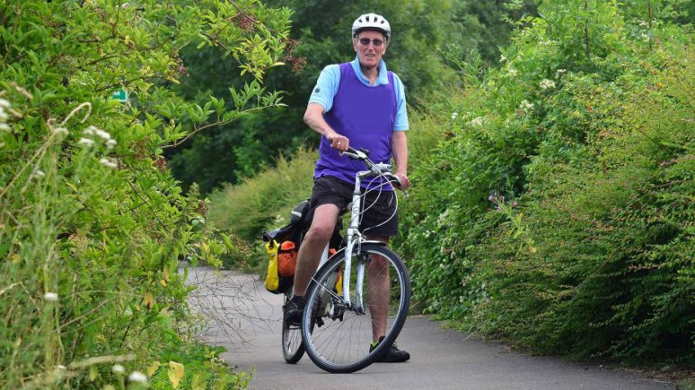 Mayor of Lincoln Councillor Brent Charlesworth is gearing up for his charity bike ride from Lincoln to Boston.