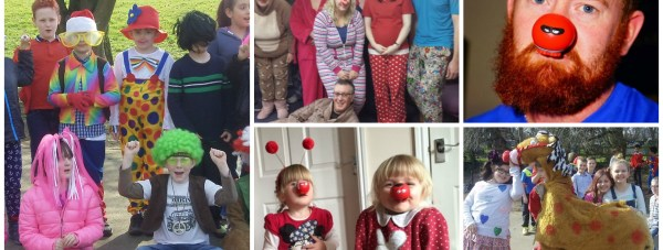 People schools and organisations played their part in raising money for this year's Comic Relief.