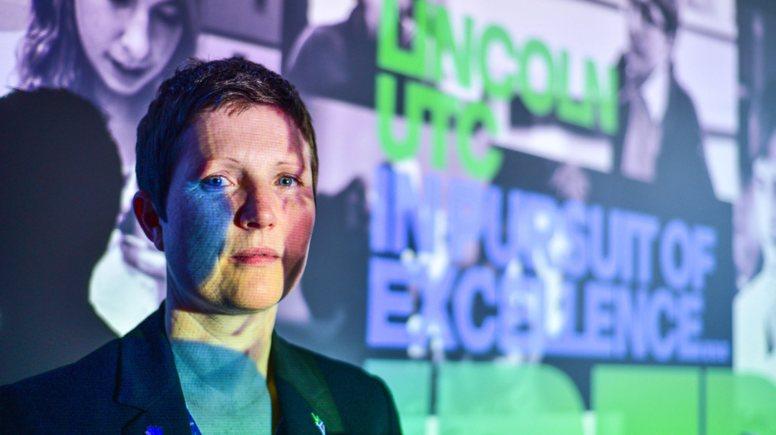 Lincoln UTC Principle Dr Rona Mackenzie. Photo: Steve Smailes for Lincolnshire Business