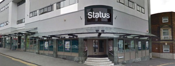 The Status bar and restaurant on Silver Street in Lincoln. Photo: Google Street View