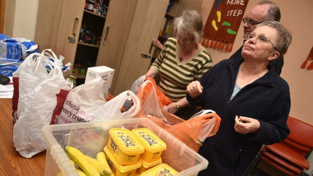 The Lincoln Community Larder are appealing for help storing their food stock.