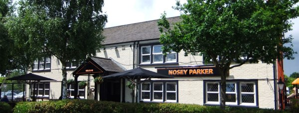 The man was saved half way through his meal at the Nosey Parker pub on Tritton Road in Lincoln. Photo via Wikipedia Creative Commons: Rept0n1x