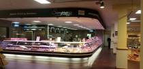 A new butchers is part of the recent extension by Pennells Garden Centre