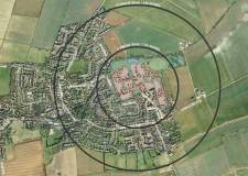 The proposed 200-homes development in Nettleham. Photo: Globe Consultants Ltd