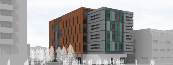 Designs for the University of Lincoln's Sarah Swift Building: Faulkner Browns Architects