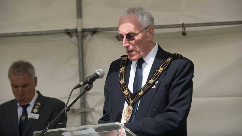 Mayor of Lincoln Councillor Brent Charlesworth. Photo: Steve Smailes for The Lincolnite