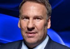 Football star and TV presenter Paul Merson.