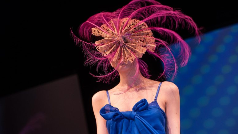 Lincoln is full of plenty of fashionistas, with designers from the University of Lincoln putting on a fashion show annually. Pictured is 'Parabolic Peacock' by Rebecca Hurst. Photo: Steve Smailes for The Lincolnite