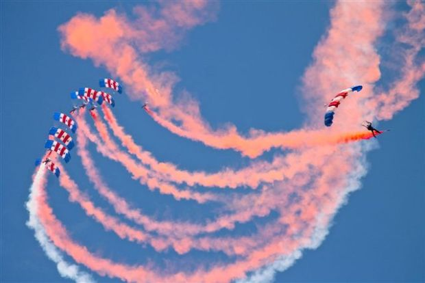 The RAF Falcons are the only fully funded military stunt team offering captivating displays for audiences across the UK.