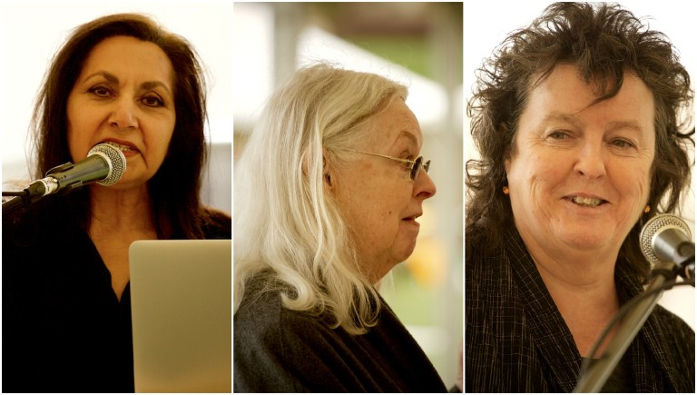 Poet Laureate Carol Ann Duffy, Welsh National Poet Gillian Clarke and Queen's Gold Medal for Poetry holder Imtiaz Dharker were appointed to write three poems for a special Magna Carta arts programme.