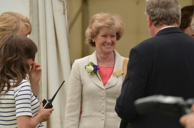 Lady Sarah McCorquodale, president of this year's Lincolnshire Show. Photo: Steve Smailes for The Lincolnite
