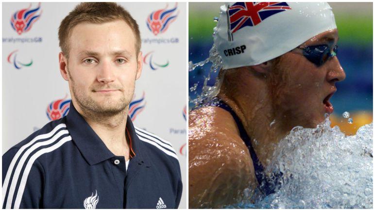 British Paralympic swimmer James Crisp. Photo: Paralympics GB