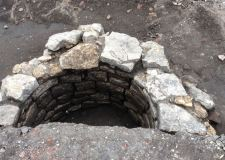 A Medieval well discovered beneath the foundations of the former Gadsby's shop on Lincoln High Street. Photo: Lincolnshire County Council