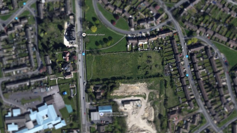 The Ermine allotments site. Photo: Google Maps