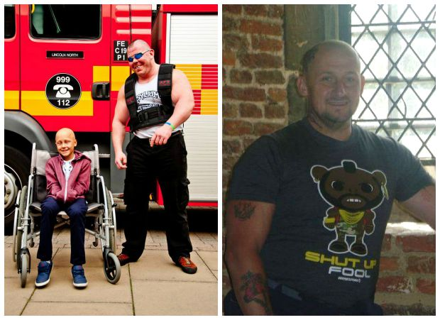 Dave's annual events raise funds in memory of Ethan (L) and Mark.