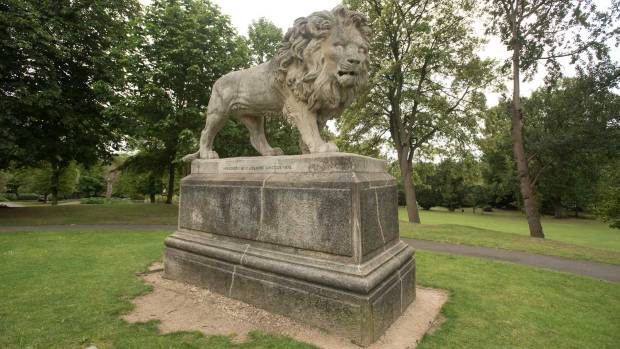 The Lion Statue. Photo: Steve Smailes for The Lincolnite