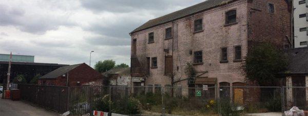 The former Pea Warehouse on Brayford Wharf East
