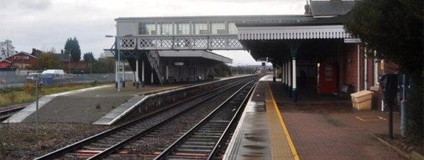 Sleaford Railway Station. Photo: Ashley Dace
