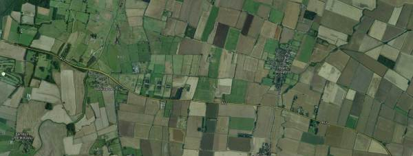 The livestock was stolen from fields between Beckingham and Brant Broughton, south of Lincoln. Map: Google