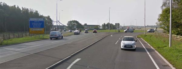 Doddington Roundabout. Photo: Google Street View