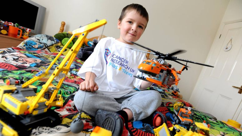 Liam has 15 months of treatment left to go, and he's doing what he can to raise awareness for Cancer Research.