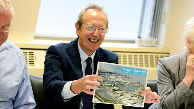 City of Lincoln Council leader Ric Metcalfe: Photo: Stuart Wilde