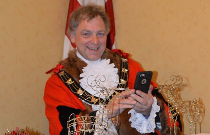 Mayor of Lincoln, Councillor Andrew Kerry