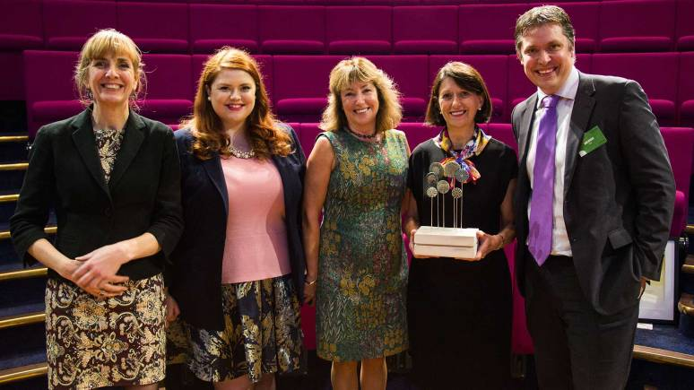 The EBP won in The Growth Champion category at the NatWest SE 100 Award