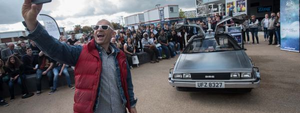 Tech guru, TV personality and University of Lincoln visiting lecturer Jason Bradbury. Photo: Steve Smailes for The Lincolnite