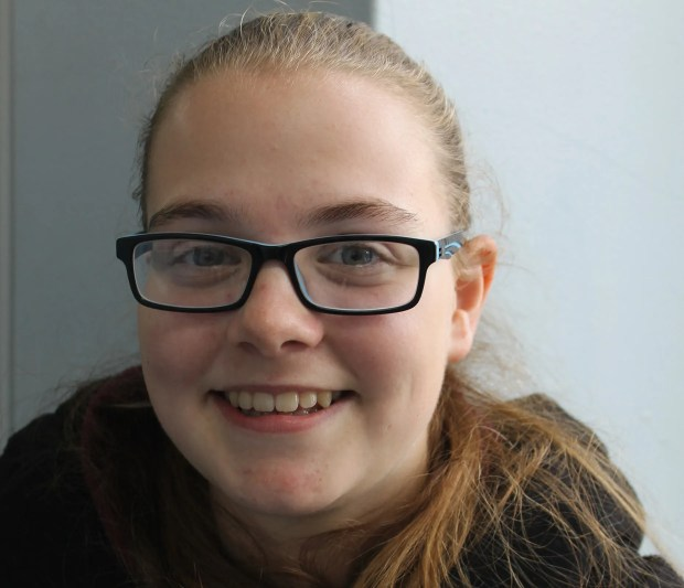 Branston Community Academy student Katie Brocklehurst managed nine A*s and two As in her GCSEs