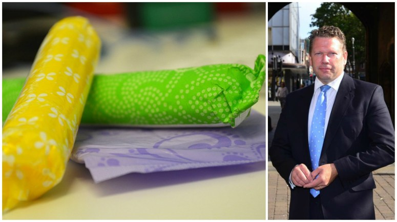 Lincoln TUSC members are calling on Lincoln MP Karl McCartney to explain his vote against the removal of tampon tax.