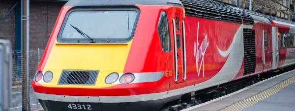 Intercity 125 in Virgin Trains East Coast livery.
