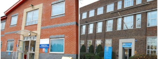 The trust is moving its HQ from its Sleaford base (left) to Lincoln.